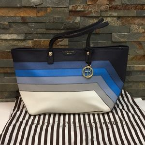 Henri Bendel West 57th Tote - Blue